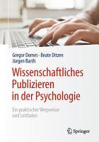 Wissenschaftliches Publizieren in der Psychologie PDF