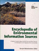 Encyclopedia of Environmental Information Sources PDF