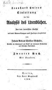 Leonhard Eulers Einleitung in die Analysis des Unendlichen: Band 2