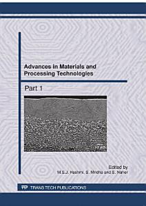 Advances in Materials and Processing Technologies II PDF