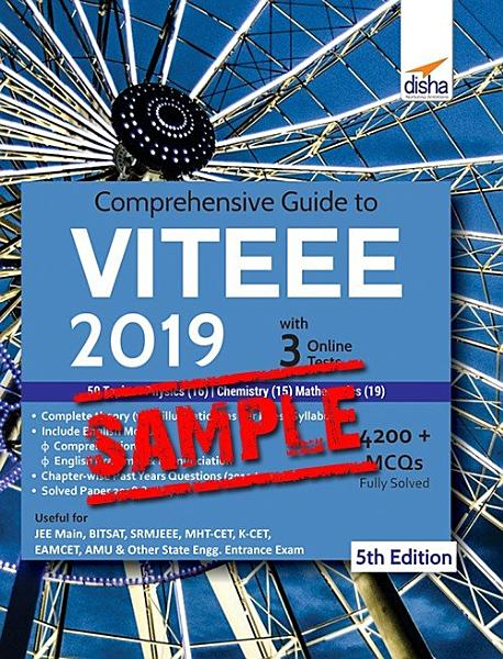 Free Sample Comprehensive Guide To Bitsat Online Test 2019 With Past 2014 2018 Solved Papers 90 Mock Online Tests 10th Edition