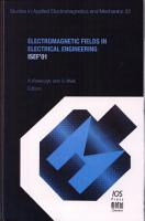 Electromagnetic Fields in Electrical Engineering PDF