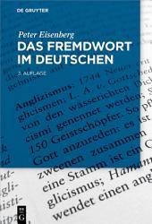 Das Fremdwort im Deutschen: Ausgabe 3