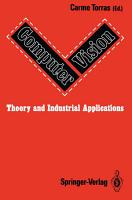 Computer Vision  Theory and Industrial Applications PDF