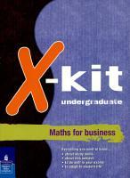 Xkit Undergraduate Maths for Business PDF