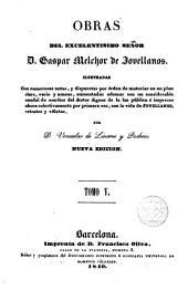 Obras del excelentisimo señor D. Gaspar Melchor de Jovellanos, 5