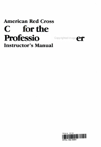 American Red Cross CPR for the Professional Rescuer PDF