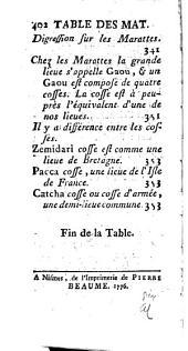Lettres édifiantes et curieuses: écrites des missions étrangères, Numéro34
