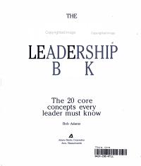 Everything Leadership PDF