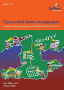 Open Ended Maths Investigations  7 9 Year Olds PDF