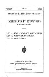 Immigrants in Industries: (v. 6-7) Bituminous coal mining