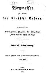 Wegweiser zur bildung für deutsche lehrer: Band 1