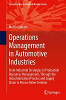 Operations Management in Automotive Industries PDF