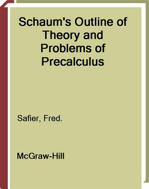 Schaum s Outline of Precalculus PDF