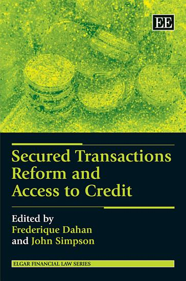 Secured Transactions Reform and Access to Credit PDF