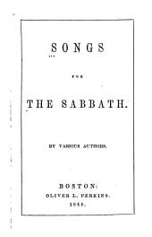 Songs for the Sabbath