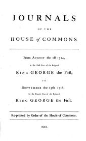 Journals of the House of Commons: Volume 18