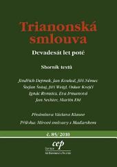 Trianonská smlouva: Devadesát let poté