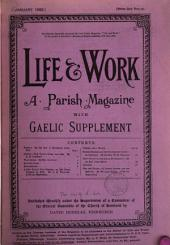 Life and Work: Volume 1