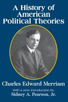 A History of American Political Theories PDF