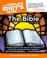 The Complete Idiot s Guide to the Bible  3rd Edition PDF