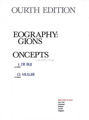 Geography, Regions and Concepts