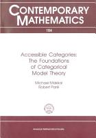 Accessible Categories PDF
