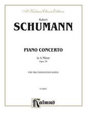 Piano Concerto in A Minor, Op. 54: Advanced Piano Duet
