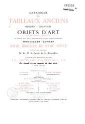 Catalogue des tableaux anciens, dessins, gravures, objets d'art... de feu M. le comte de la Béraudière: vente à Paris, Hôtel de Poitiers, 18-30 mai 1885
