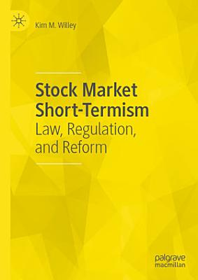 Stock Market Short Termism