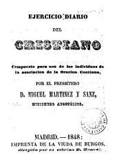Ejercicio diario del cristiano: compuesto para uso de los individuos de la asociación de la oración contínua