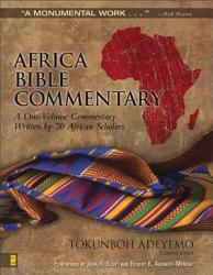 Africa Bible Commentary Book PDF