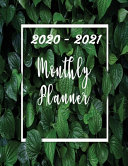 2020 2021 Monthly Planner PDF