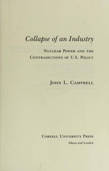 Collapse of an Industry