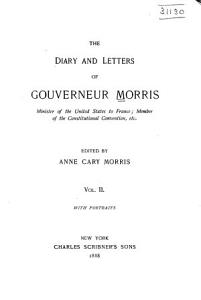 The Diary and Letters of Gouverneur Morris PDF