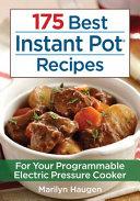 175 Best Instant Pot Recipes Book PDF