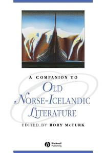 A Companion to Old Norse Icelandic Literature and Culture Book