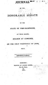 Journal of the Proceedings of the Senate of the State of New Hampshire
