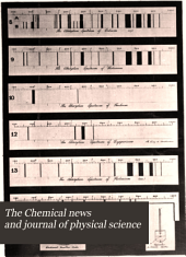 The Chemical News and Journal of Physical Science: Volume 60