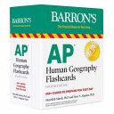 BARRON'S AP HUMAN GEOGRAPHY FLASHCARDS.