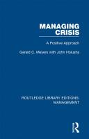 Managing Crisis PDF