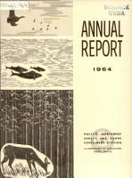 Annual Report of the Pacific Northwest Forest and Range Experiment Station for the Calendar Year     PDF