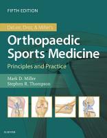 DeLee   Drez s Orthopaedic Sports Medicine E Book PDF