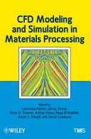CFD Modeling and Simulation in Materials Processing PDF