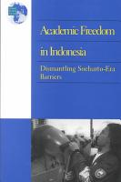 Academic Freedom in Indonesia PDF