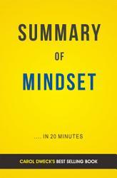 Mindset: by Carol Dweck | Summary & Analysis