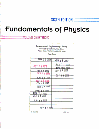 Fundamentals of Physics  Chapters 22   45