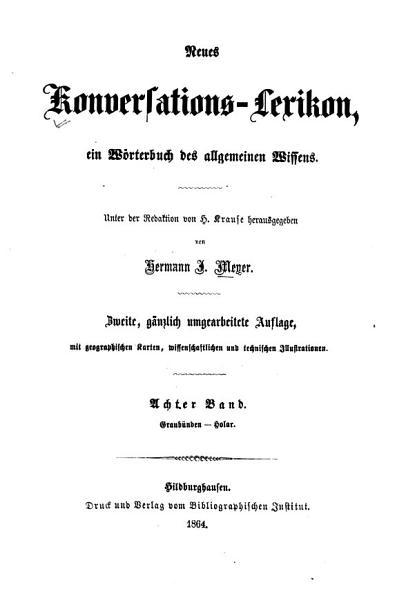 Neues Konversations Lexikon PDF