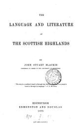 The Language and Literature of the Scottish Highlands