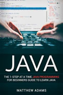 Java  the 1 Step at a Time Java Programming for Beginners Guide to Learn Java PDF